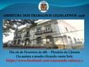ABERTURA DOS TRABALHOS LEGISLATIVOS 2018