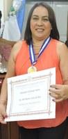Valenciana Recebe Medalha Tiradentes